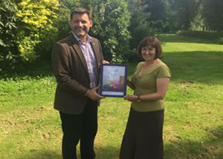 GFirst LEP receive The Workplace Wellbeing Charter Award