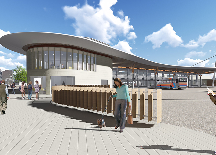 Gloucester Central Transport Hub concept