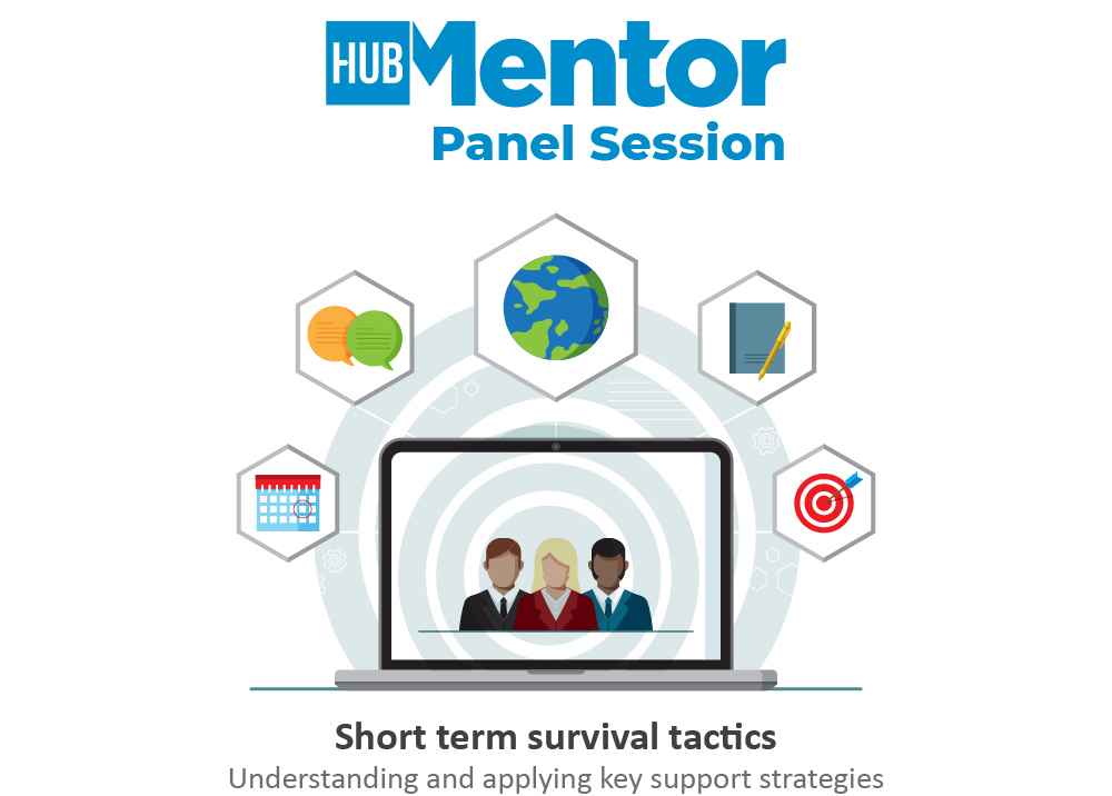 Hub Mentors share their knowledge and experience in free online panel sessions