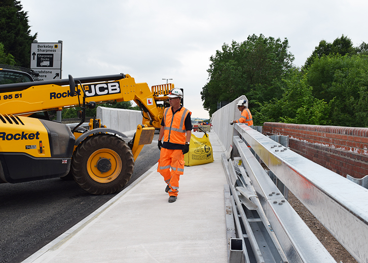 A38 Berkeley Bridge project
